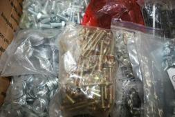 ASSORTED BOLTS, NUTS, SCREWS, AND OTHER FASTENING HARDWARE -