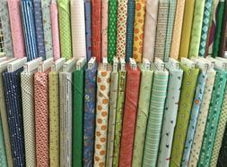 Clearance Fabrics ~ On the Bolt ~ Priced by the Half Yard OR