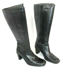 Naturalizer Trinity Plus Boots Black Tall Knee High Size 6 1