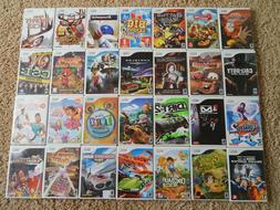 Nintendo Wii Games! You Choose from Large Selection! $7.95 E