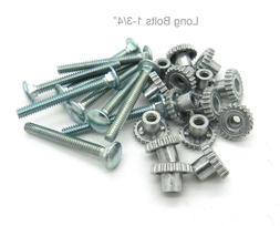 Pet Carrier Crate Kennel Zinc Metal Fasteners Nuts & Bolts 1