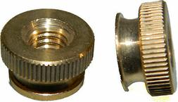 solid brass knurled thumb nuts 6 32
