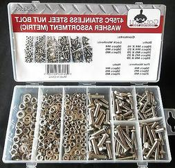 475pc GOLIATH INDUSTRIAL SSNB475 STAINLESS STEEL METRIC NUT