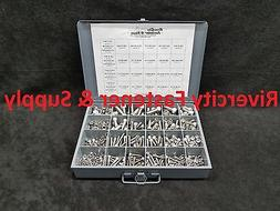 STAINLESS SOCKET/ ALLEN CAP SCREW ASSORTMENT KIT WITH NUTS &